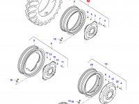 Задний колесный диск - DW18Lx38 (GKN) — 33214800