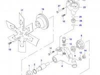 Термостат двигателя трактора (79 градусов) — 836115646