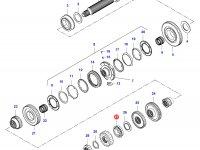 Подшипник конического вала КПП — 35042600
