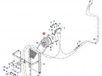 Компрессор кондиционера кабины — 34672200