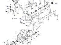 Трубка отвода топлива (топливоотвод) двигателя Sisu Diesel — 837070352