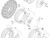 Задний колесный диск - W15Lx34(865) — 33056100