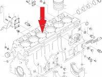 Блок двигателя Sisu Diesel — 836866110