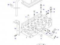 Прокладка ГБЦ двигателя Sisu Diesel — 836536630