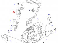 Форсунка двигателя Sisu Diesel — 836854755