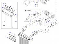 Воздушный фильтр двигателя Sisu Diesel (большой) — 36539600
