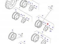 Вставка переднего колесного диска трактора — 34635300