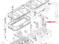 Болт ГБЦ двигателя Sisu Diesel — 837069025