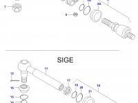 Рулевая тяга трактора — 31059700