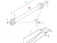 Карданный вал трактора L=1488 D=80 — 36644010
