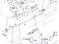 Гидравлический насос трактора — 31851700