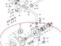 Водяной насос охлаждения двигателя Sisu Diesel — 836859202