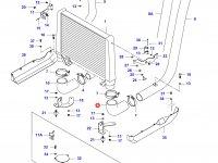 Патрубок интеркулера двигателя Sisu Diesel — 34581910