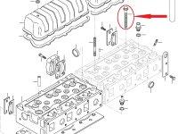 Болт ГБЦ двигателя Sisu Diesel — 836859104