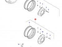 Передний колесный диск - TW15x30(GKN, 50km/h) — 0253560