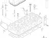 Прокладка клапанной крышки двигателя Sisu Diesel — 836767244