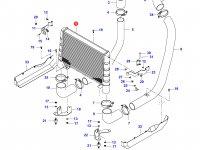 Интеркулер двигателя Sisu Diesel — 34414710