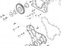 Передний сальник коленвала двигателя Sisu Diesel — 614105880