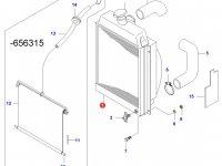 Радиатор двигателя Sisu Diesel — 31109300