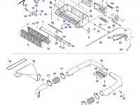 Вентилятор печки отопителя кондиционера кабины — 35420100