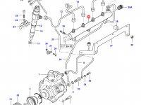 Топливная рампа двигателя Sisu Diesel — 837069049