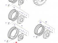 Задний колесный диск - DW23Ax38 — 36611300
