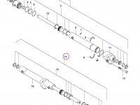 Рулевой цилиндр трактора (полный привод) — 31797400