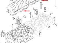 Прокладка клапанной крышки двигателя Sisu Diesel — 836646360