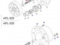 Солнечная шестерня редуктора моста — 31063700