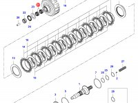 Подшипник сцепления КПП — 35081100