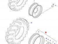 Задний колесный диск - DW16x46 (ADJUST., KINT.) — 35607900