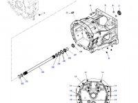 Торсионный демпфер сцепления трактора Massey Ferguson — E701100420030