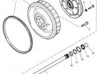 Демпфер крутильных колебаний трактор Challenger — E701100420030