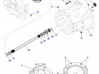 Демпфер крутильных колебаний трактор Challenger — E701100420040
