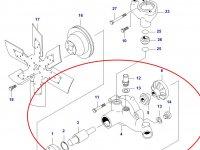 Водяной насос охлаждения двигателя Sisu Diesel — 836755471