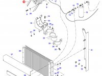 Ремень компрессора кондиционера Valtra — 36763300