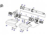 Рулевой цилиндр трактора Fendt — E926301120011