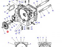 Демпфер крутильных колебаний трактор Challenger — E931100420080
