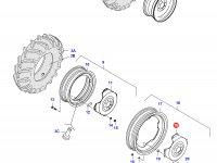 Вставка переднего колесного диска трактора — 34591300