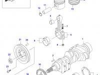 Поршень двигателя Sisu Diesel — 836531922