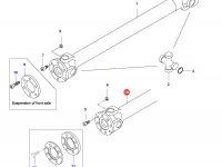 Карданный вал трактора L=1698 — 33770100