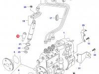 Распылитель топливной форсунки двигателя Sisu Diesel — 836854757