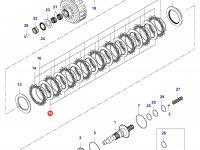 Диск фрикционный КПП сцепление — 35080600