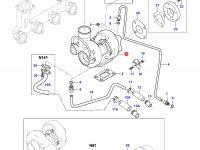 Турбокомпрессор двигателя Sisu Diesel — 836759238