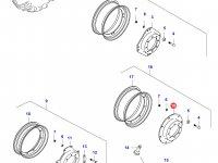 Вставка переднего колесного диска трактора — 37752600