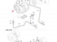 Турбокомпрессор двигателя Sisu Diesel — 836766665