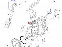 Топливный насос высокого давления (ТНВД) двигателя Sisu Diesel — 836539091