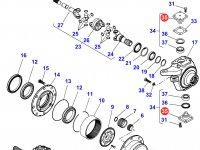 Шкворень моста трактора Massey Ferguson — F119300020150