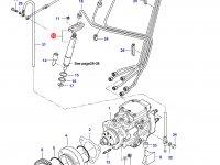 Форсунка двигателя Sisu Diesel — 836659808