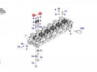 Сухарь клапана двигателя трактора Fendt — F205200210020